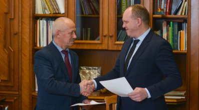 IEC and Prydniprovska State Academy of Civil Engineering and Architecture signed a cooperation agreement